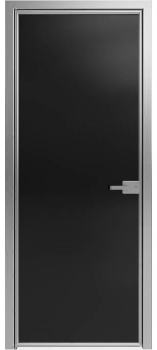 Межкомнатная дверь Софья 1000 Lines А1 T05 Стекло черное
