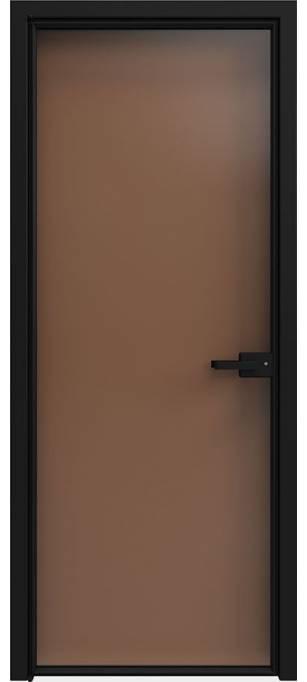 Межкомнатная дверь Софья 1000 Lines А7 T04 Бронза Прозрачная