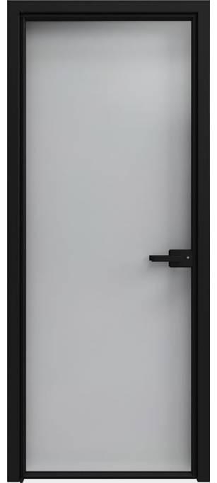 Межкомнатная дверь Софья 1000 Lines А7 T07 Стекло прозрачное зеркальное