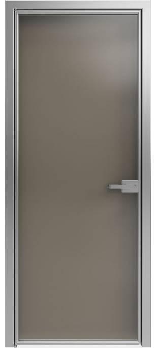 Межкомнатная дверь Софья 1000 Lines А1 T10 Стекло бронза зеркальная