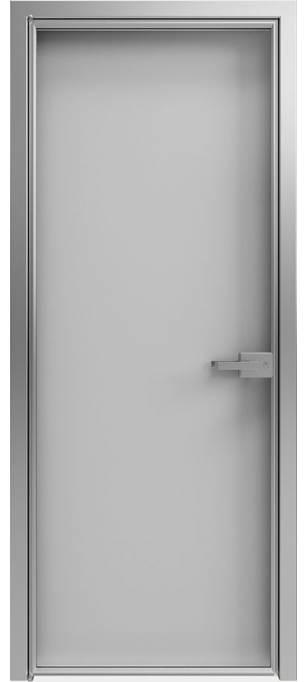 Межкомнатная дверь Софья 1000 Lines А1 T11 Стекло серебро светлое
