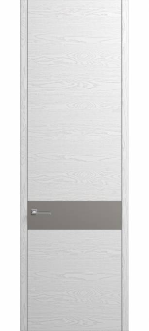 Межкомнатная дверь Софья Contorno Ясень белый, эмаль структурированная 35.99