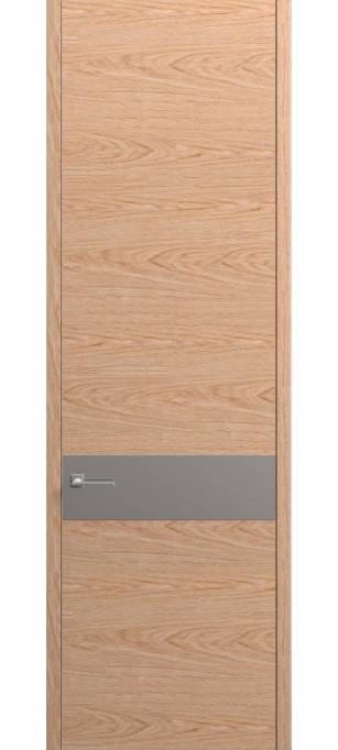 Межкомнатная дверь Софья Contorno Дуб классический, шпон брашированный 91.99
