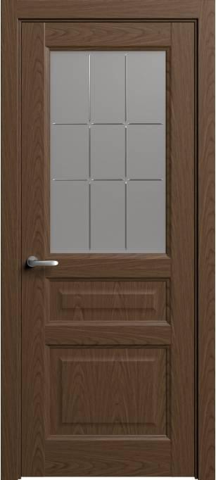 Межкомнатная дверь Софья Мастер и Маргарита Темный дуб, шпон 04.41Г-П9