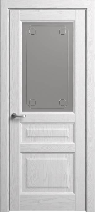 Межкомнатная дверь Софья Мастер и Маргарита Ясень белый, эмаль структурированная 35.41Г-К4