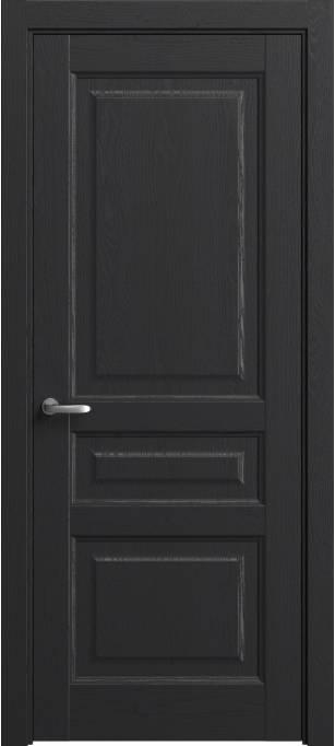 Межкомнатная дверь Софья Мастер и Маргарита Ясень черный, шпон 36.42