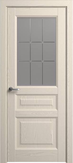 Межкомнатная дверь Софья Мастер и Маргарита  Ясень бежевый, эмаль структурированная 43.41Г-П9