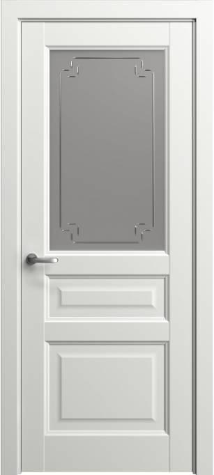 Межкомнатная дверь Софья Мастер и Маргарита Белый лак, глянцевый 78.41Г-У4