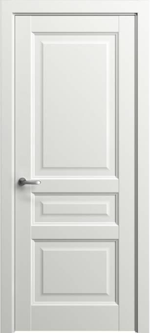 Межкомнатная дверь Софья Мастер и Маргарита Белый лак глянцевый 78.42