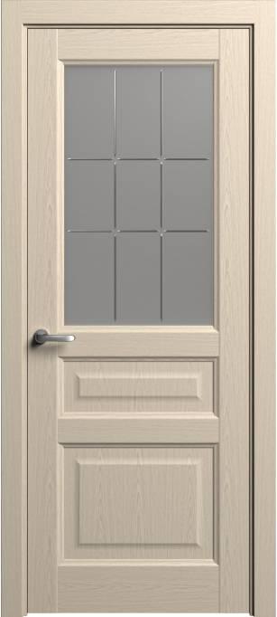 Межкомнатная дверь Софья Мастер и Маргарита Выбеленный дуб, шпон 81.41Г-П9