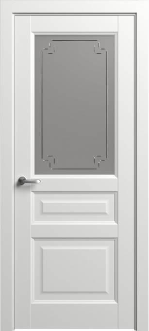 Межкомнатная дверь Софья Мастер и Маргарита Белый шелк 90.41Г-У4