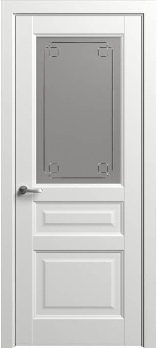 Межкомнатная дверь Софья Мастер и Маргарита Белый шелк 90.41Г-К4