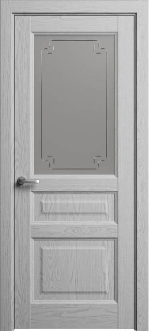 Межкомнатная дверь Софья Мастер и Маргарита Ясень светло-серый, эмаль структурированная 300.41Г-У4