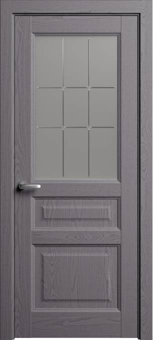 Межкомнатная дверь Софья Мастер и Маргарита Ясень дымчатый, эмаль структурированная 302.41Г-П9