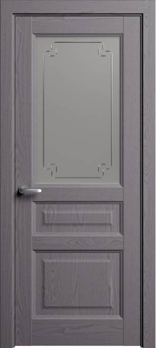 Межкомнатная дверь Софья Мастер и Маргарита Ясень дымчатый, эмаль структурированная 302.41Г-У4