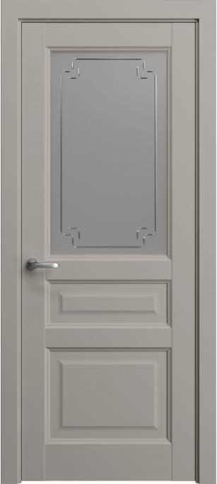 Межкомнатная дверь Софья Мастер и Маргарита Темно-серый шелк 330.42Г-У4