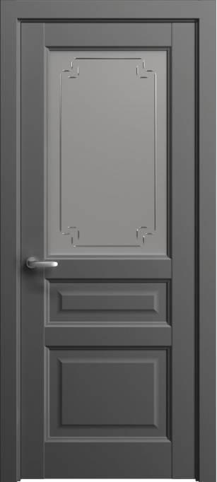 Межкомнатная дверь Софья Мастер и Маргарита Грифельный шелк 331.42Г-У4