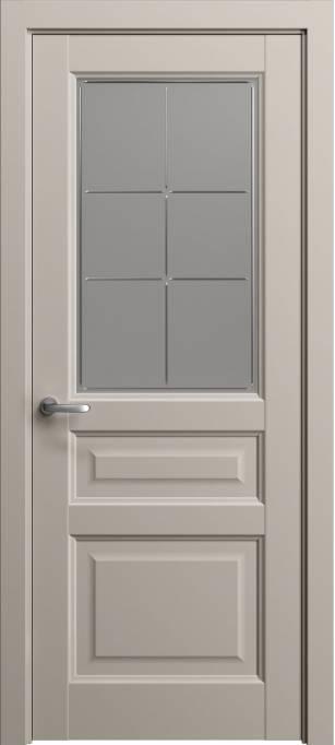 Межкомнатная дверь Софья Мастер и Маргарита Светло-серый шелк 332.42Г-П6