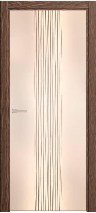 Межкомнатная дверь Софья Rain Орех, шпон 138.22
