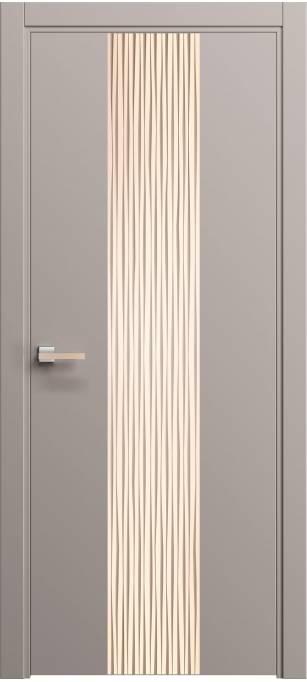 Межкомнатная дверь Софья Rain Пепельно-розовый шелк 333.21