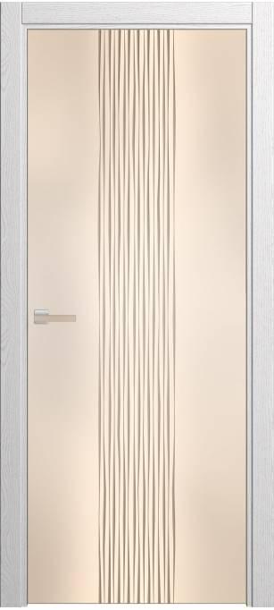 Межкомнатная дверь Софья Rain Ясень белый, шпон 35.22