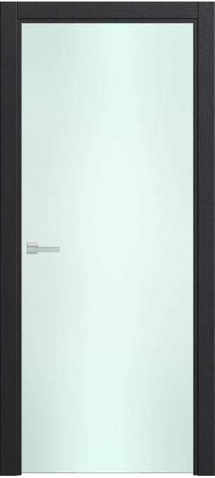 Межкомнатная дверь Софья Rain Ясень черный, эмаль структурированная 36.23