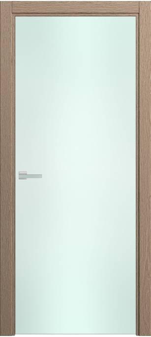 Межкомнатная дверь Софья Rain Песочный дуб, натуральный шпон 381.23 стекло