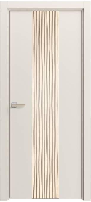 Межкомнатная дверь Софья Rain Milky, монохромный кортекс 391.21