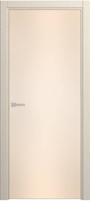 Межкомнатная дверь Софья Rain Ясень бежевый, эмаль структурированная 43.23