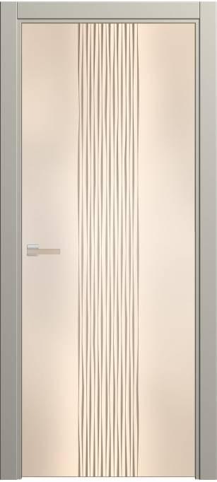 Межкомнатная дверь Софья Rain Серый шелк 57.22