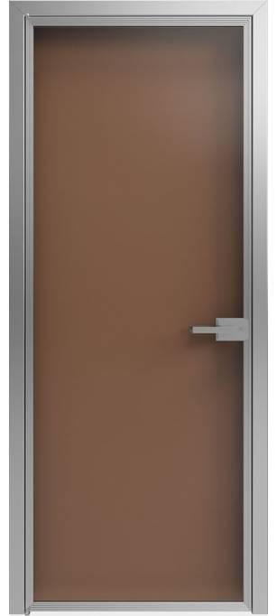 Межкомнатные двери Scala А1 T04 Стекло бронза прозрачная - Sofia Scala