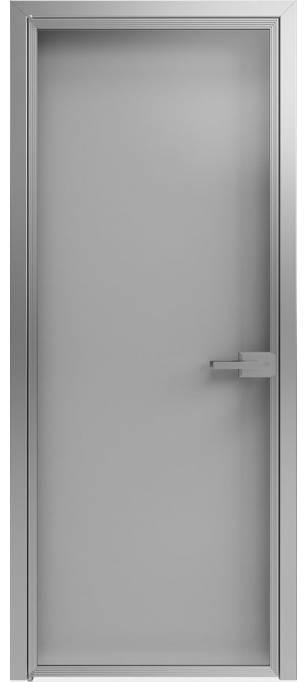 Межкомнатная дверь Софья Scala А1 T12 Стекло серебро темное