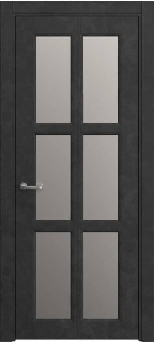 Межкомнатная дверь Софья Bridge Темный бетон, кортекс 231.75 ССС