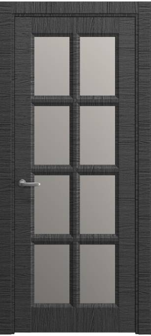 Межкомнатная дверь Софья Chalet Неро, кортекс 01.48