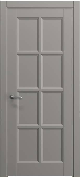 Межкомнатная дверь Софья Chalet Темно-серый шелк 330.49