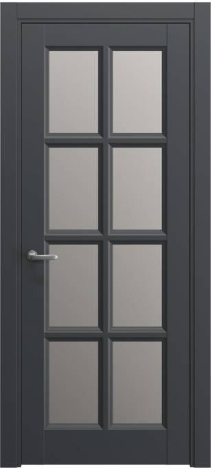 Межкомнатная дверь Софья Chalet Indigo, монохромный кортекс 395.48