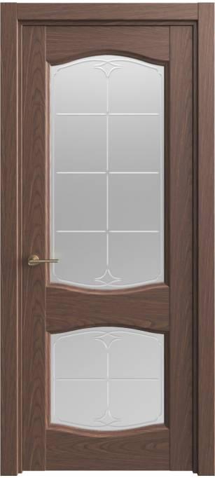 Межкомнатная дверь Sofia Classic Темный дуб, шпон 04.147