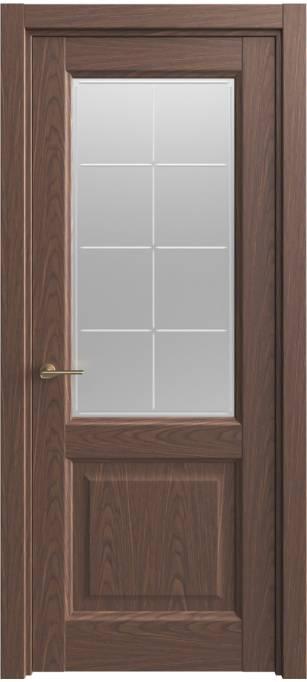 Межкомнатная дверь Sofia Classic Темный дуб, шпон 04.152