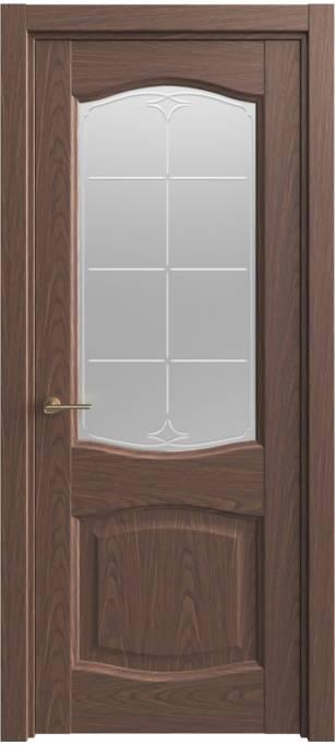 Межкомнатная дверь Sofia Classic Темный дуб, шпон 04.157