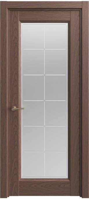 Межкомнатная дверь Sofia Classic Темный дуб, шпон 04.51