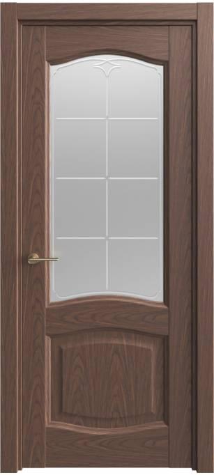 Межкомнатная дверь Sofia Classic Темный дуб, шпон 04.54