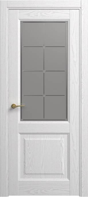 Межкомнатная дверь Софья Classic Ясень белый эмаль структурированная 35.152