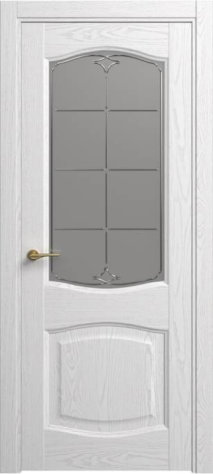 Межкомнатная дверь Софья Classic Ясень белый эмаль структурированная 35.157