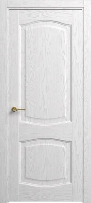 Межкомнатная дверь Sofia Classic Ясень белый эмаль структурированная 35.167