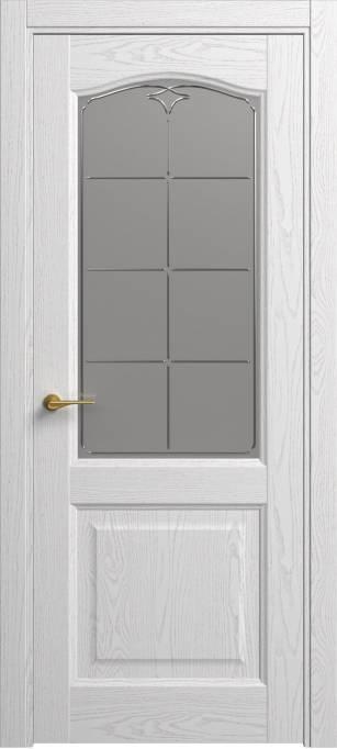 Межкомнатная дверь Софья Classic Ясень белый эмаль структурированная 35.53