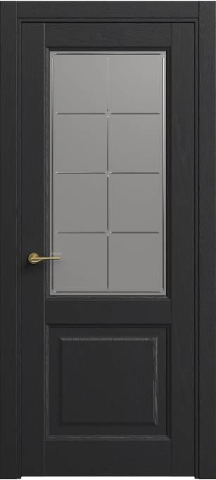 Межкомнатная дверь Софья Classic Ясень черный эмаль структурированная 36.152