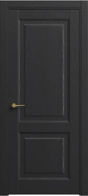 Межкомнатная дверь Софья Classic Ясень черный эмаль структурированная 36.162