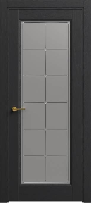 Межкомнатная дверь Софья Classic Ясень черный эмаль структурированная 36.51