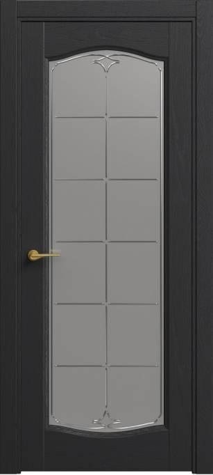 Межкомнатная дверь Софья Classic Ясень черный эмаль структурированная 36.55