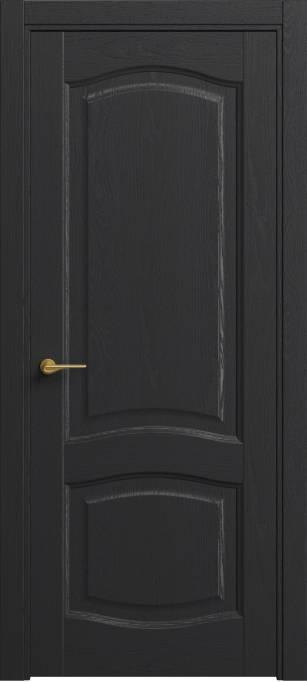 Межкомнатная дверь Софья Classic Ясень черный эмаль структурированная 36.64
